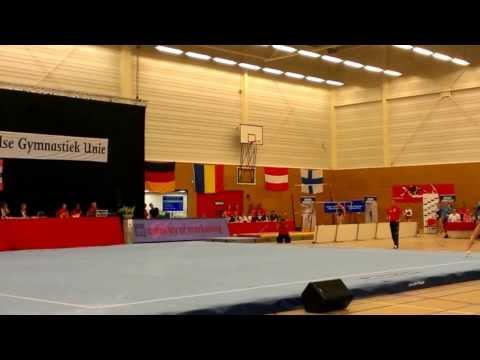 Sandra Izbasa FX Qualif Alphen aan den Rijn 2013