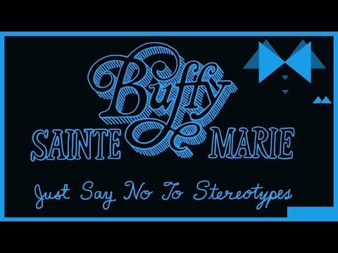 Buffy Sainte-Marie talks Stereotypes (Animated)