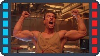 """Драка в тюрьме. Бёрк против """"Заговорённого"""" — «Ордер на смерть» (1990) сцена 7/8 HD"""
