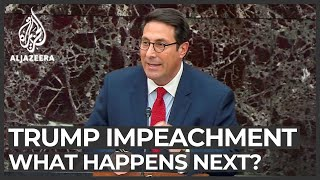 What happens next in the Trump impeachment trial?