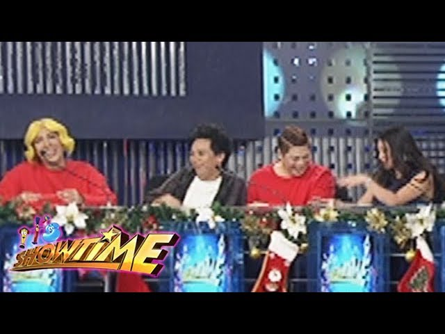 It's Showtime: Vice, Lassie and MC laugh at Ruffa Mae's way of giving comments