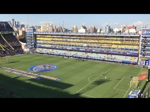 Boca Juniors vs. Racing at La Bombonera, Buenos Aires (Sunday, December 4th, 2016) Argentina