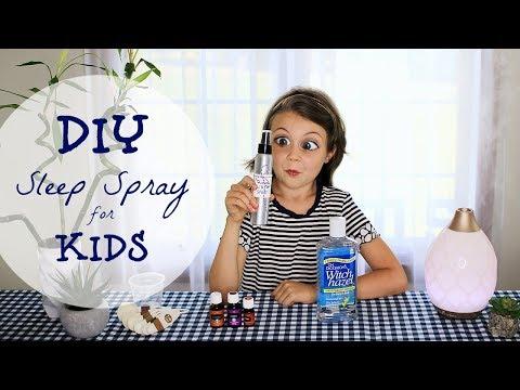 KIDS' EASY DIY RECIPE: Sleep Spray/Linen Spray