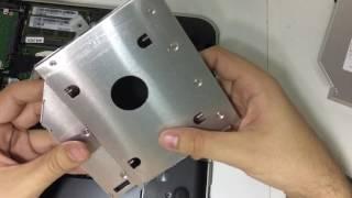 Trocando drive de CD notebook Dell Inspiron 14R 5420 por HDD Caddy