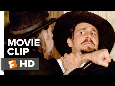 In a Valley of Violence Movie CLIP - Prick and Pistol (2016) - John Travolta Movie
