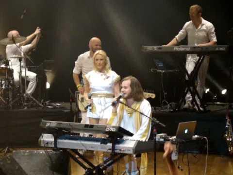ABBA - The Show, em Curitiba - PR - 23/10/2010 -