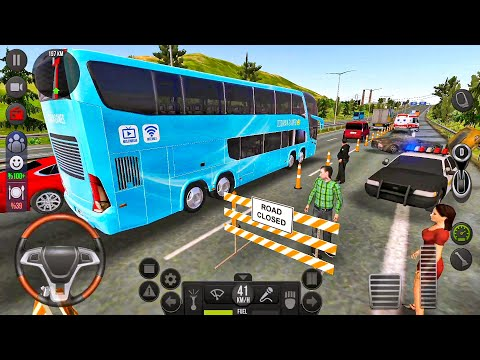 Bus Simulator Ultimate #16 Let's Go To Dallas! Bus Games Android Gameplay