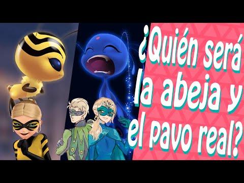 NUEVOS Kwamis | Miraculous ABEJA, Chloé? Miraculous PAVO REAL, Agreste? Miraculous Ladybug