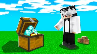 Bat Minecraft Dar Daca Arunc Un Item Apare Un Chest Random!