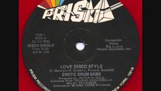 The Erotic Drum Band - Love Disco Style