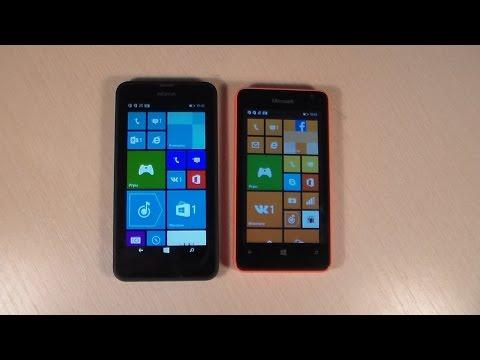 Nokia Lumia 630 vs Microsoft Lumia 430
