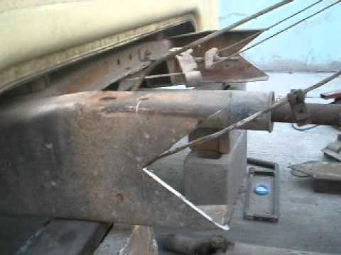 modificar ford caja larga a corta - YouTube