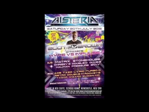 DJ Matrix Mc Tazo B2B Mc Lyric @ Histeria 30.7.2016