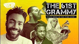 葛萊美獎回顧!Childish Gambino贏得了四個獎項 Drake卻diss了葛萊美獎?|The 61st Grammy Awards Review