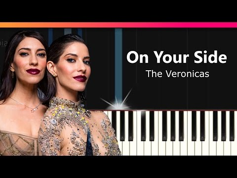 """The Veronicas - """"On Your Side"""" Piano Tutorial - Chords - How To Play - Cover"""