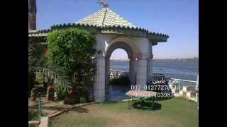 للبيع قصر على النيل مباشرة تحفة معماريه 4000 متر.