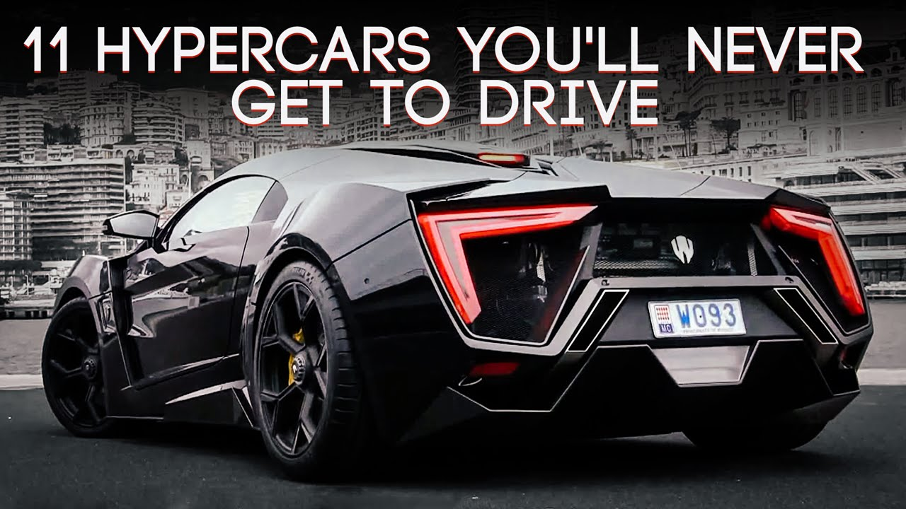 Hypercars You Ll Never Get To Drive Youtube