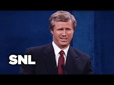 First Presidential Debate: Al Gore and George W. Bush – SNL