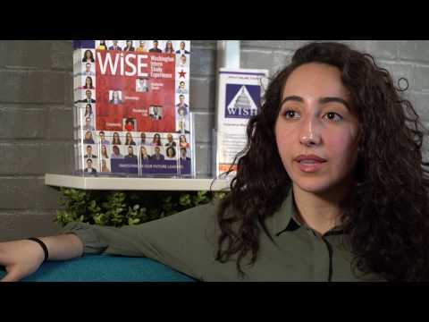 Dina Ashah, University South Florida Senior (WISH Alumna) WISH Testimonial 3
