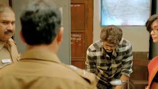 Vijay theri mass scene