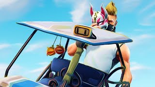 INSANE TRICKSHOT IN THE ATK (All Terrrain Kart)! 🔥 FORTNITE SEASON 5