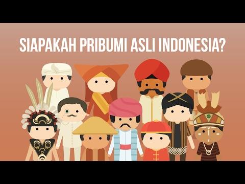 Siapakah Pribumi Asli Indonesia?