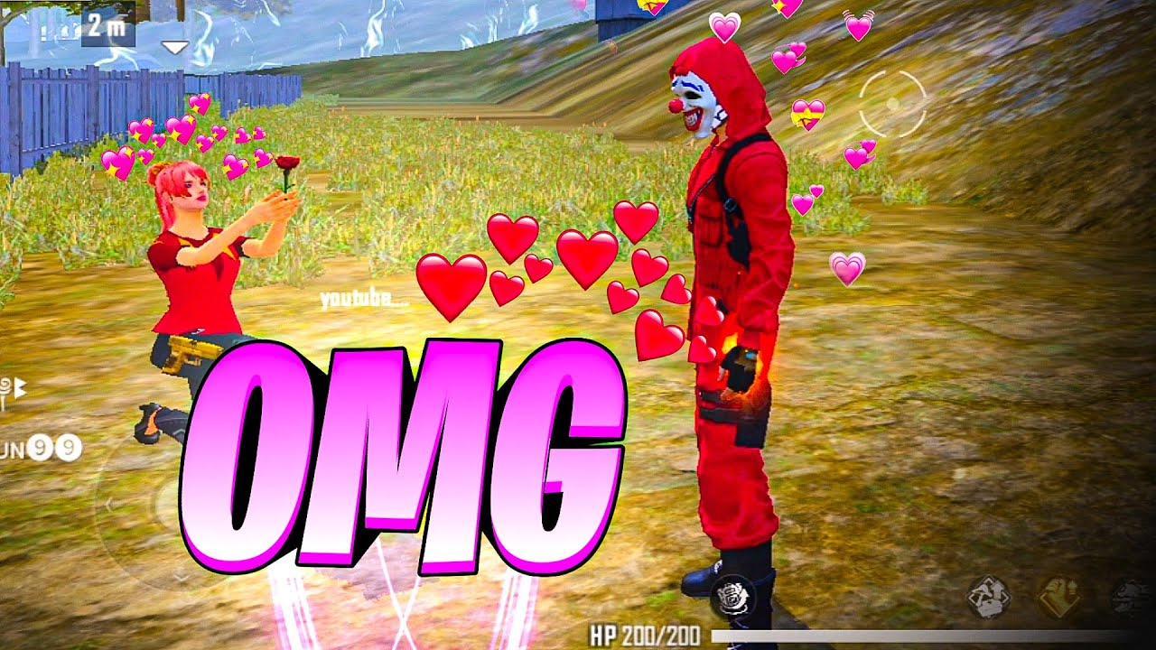 Girl Fan Did This With Me!😜  Must Watch - Garena Free Fire