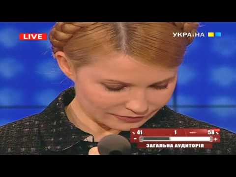 Юлия Тимошенко расплакалась