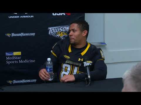 Rob Ambrose press conference following win over Rhode Island