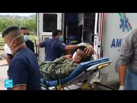 جرحى في هجوم بسيارة مفخخة في قاعدة عسكرية بكولومبيا  - نشر قبل 3 ساعة