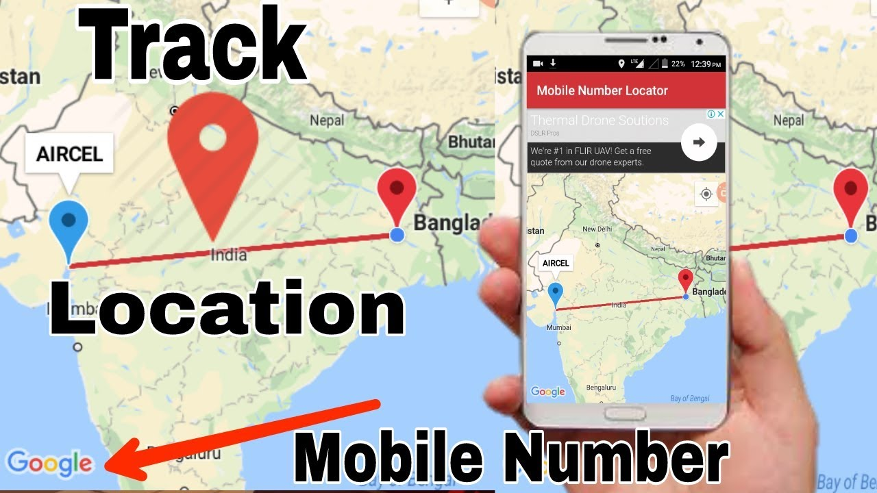 How To Track caller ID & Number Locations city,state, country, | Part Caller Map on