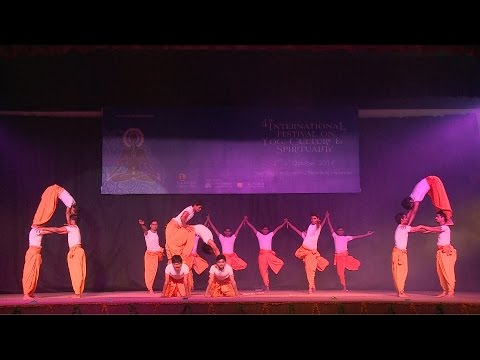 Cultural Evening @ 4th International Festival on Yog Culture and Spirituality At Dsvv 04 Oct. 2014