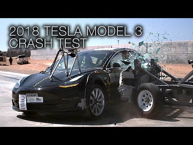 Tesla Model 3 Gets Perfect 5 Star Safety Rating In Every Category From Nhtsa Videos Electrek
