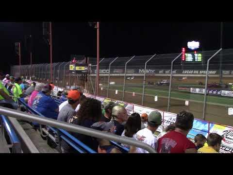Lucas Oil Speedway MLRA Late Model Heat 1 9/2/17