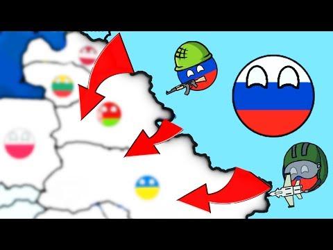 ЗАХВАТЫВАЕМ ВЕСЬ МИР! ОДНА СТРАНА ПРОТИВ ВСЕХ!   Dictators:No Peace Countryballs