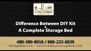 Difference Between Diy Kit & A Complete Storage Bed