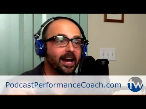 Wear Headphones - Podcast Performance Coach Tip