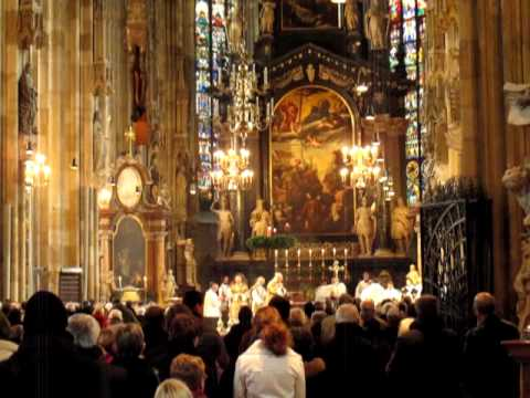 Advent Mass at Saint Stephen's Cathedral - Austria [Travel with Manfred]