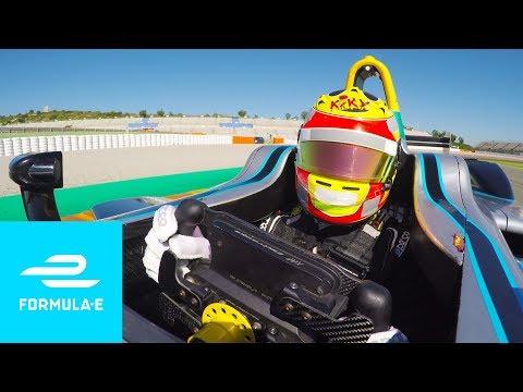 Rio Haryanto: Valencia Onboard - Formula E
