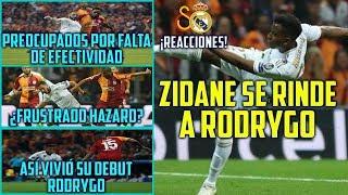 Download ZIDANE SE RINDE A RODRYGO | ASÍ VIVIÓ SU DEBUT EN CHAMPIONS | ¿ESTÁ FRUSTRADO HAZARD? | SIN GOL Mp3 and Videos
