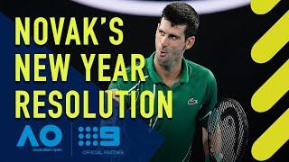Novak Djokovic's New Year's resolution- Australian Open | Wide World of Sports