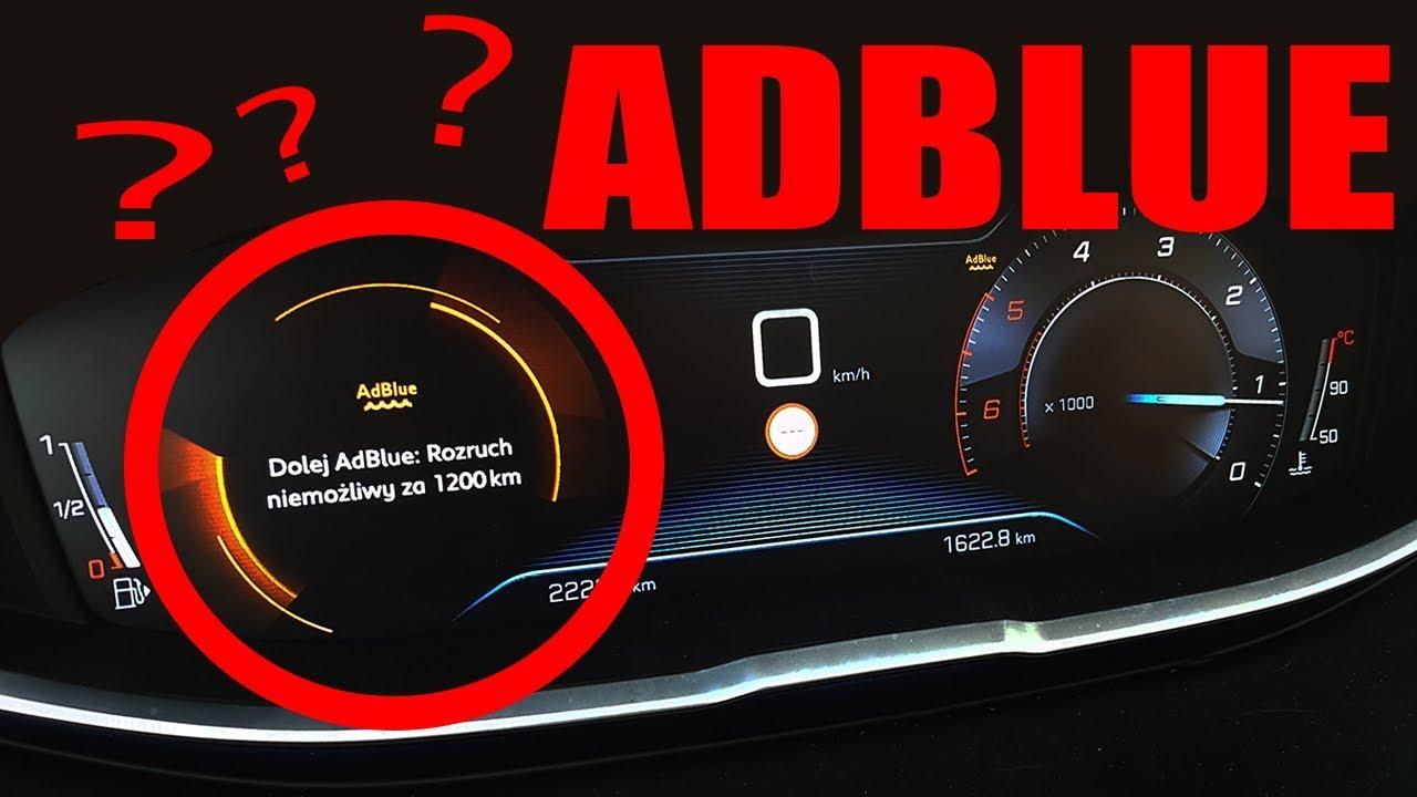 Pora dolać ADBLUE. Właściwie po co ono jest? #MOTODORADCA