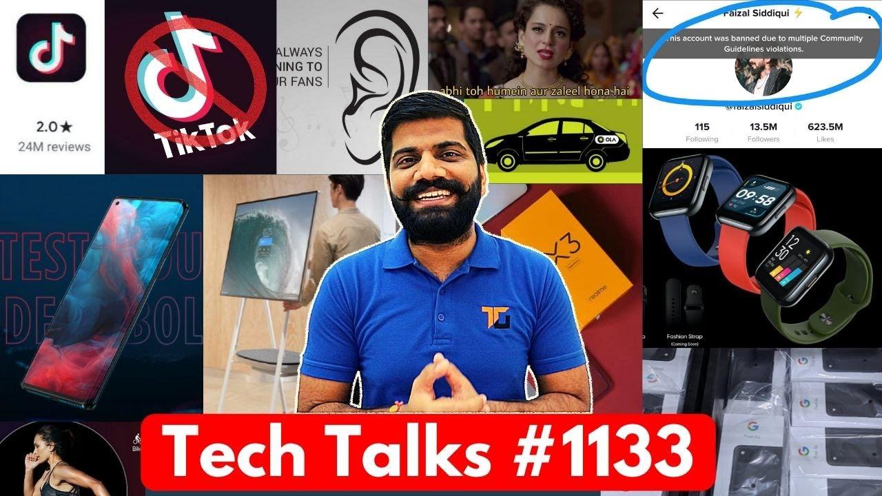 Charlas tecnológicas # 1133 - TikTok Ban en India Soon, POCO Pop Buds, Moto Edge India, TIkTok 2 Star Rating + vídeo