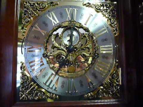 Howard Miller Grandfather Clock.MOV