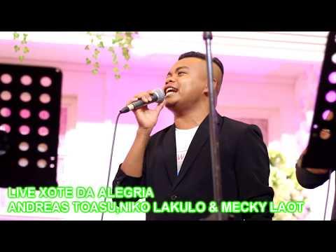 Andreas Toasu FT Niko Lakulo Live Xote Da Alegria || Dansa Rame