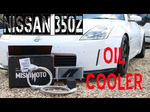 Fitting a Nissan 350z oil cooler