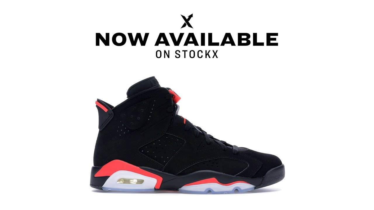 Get the Infrared Jordan 6 on StockX - YouTube 9ce7e5bf670d