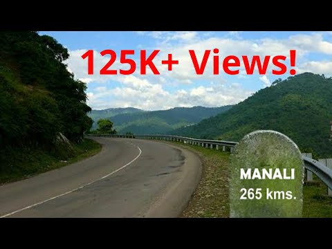 SHIMLA to MANALI: Total journey in half an hour