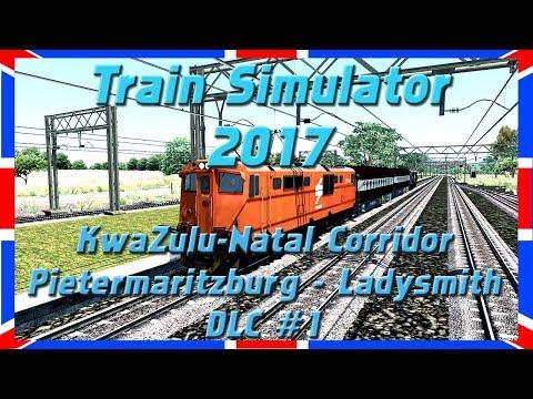 KwaZulu-Natal Corridor #1 | Class 6E1 | Train Simulator 2017 [Deutsch|HD]