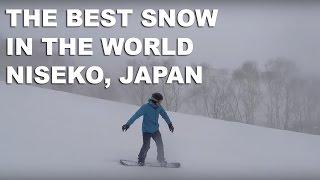 Snow For Days in Niseko Hokkaido Japan